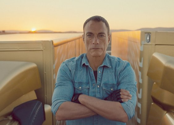 Jean Claude Van Damme makes doing the Splits Badass
