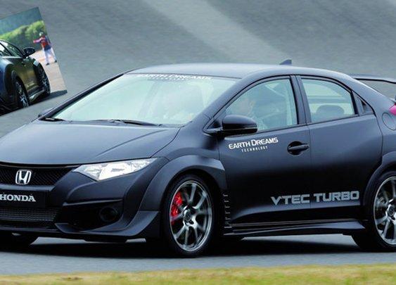 2015 Honda Civic Type R VTEC Turbo Unveils