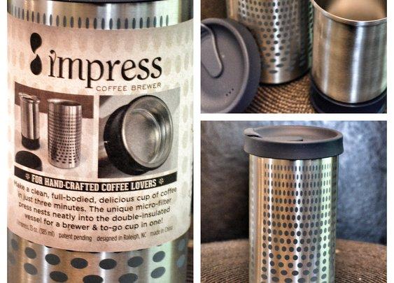 Impress Coffee Brewer Review — Roast Lab