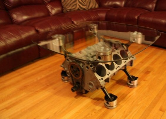 How to Make That Engine Coffee Table | The Smoking Tire