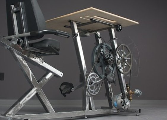 Pedal Power provides off-grid power while keeping you fit