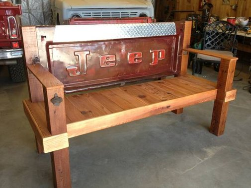 Jeep Tailgate Bench Bushland, TX $475 | eWillys