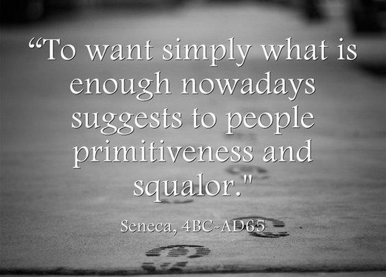 Simplicity, Seneca
