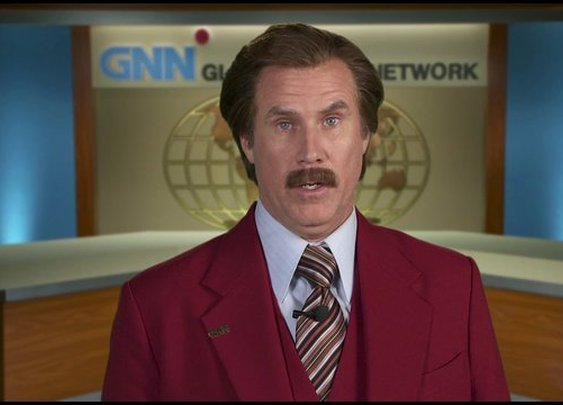 Let Me Off at the Top! by Ron Burgundy Book Trailer