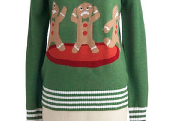 Cookie Cutting Edge Sweater
