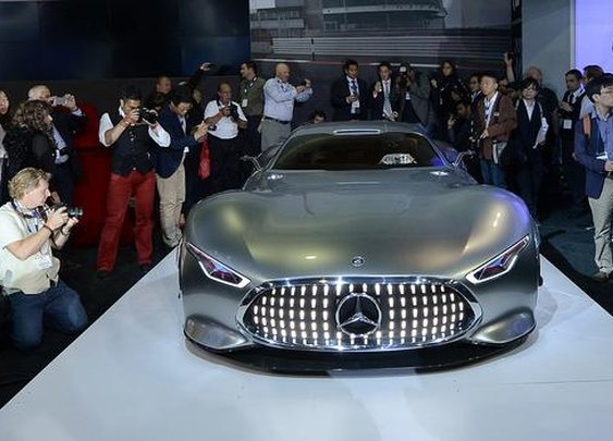 BBC - Autos - From Mercedes-Benz, video-game dreams rendered real