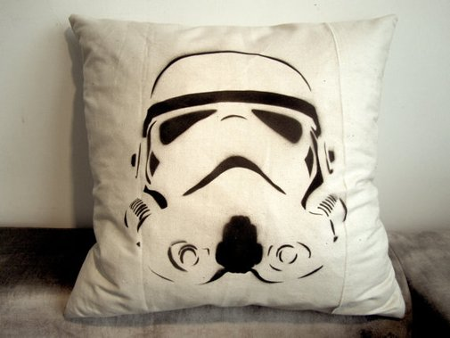 Storm Trooper Star Wars Pillow