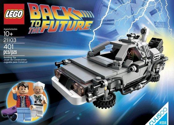 Lego CUUSOO 20113 Delorean Time Machine Set | Audithat