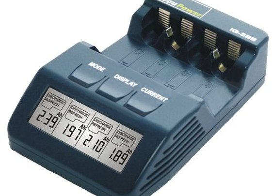 AccuPower IQ-328 Battery Charger Analyzer Tester AA AAA NiMH NiCd Review | Audithat