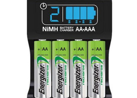 Energizer CHP4WB4 Smart Battery Charger Review | Audithat