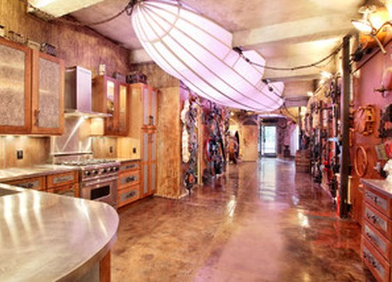 Manhattan Steam Punk Loft - eclectic - kitchen - new york - by Real Estate Investing Guru Review
