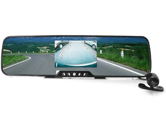 Bluetooth Car Rearview Mirror with Wireless Backup Camera Review | Audithat