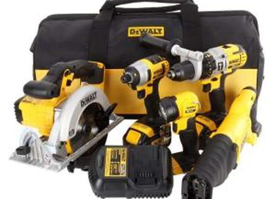 DEWALT 20-Volt Max (3.0 Ah) Lithium-Ion Combo Kit (5-Tool)-DCK590L2 at The Home Depot