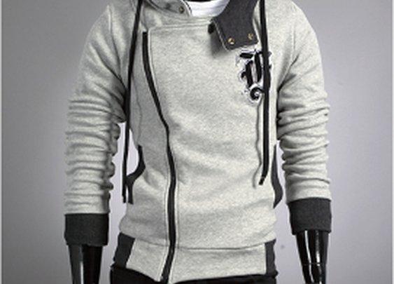 Men 's Graphic Zip Up Hoodie