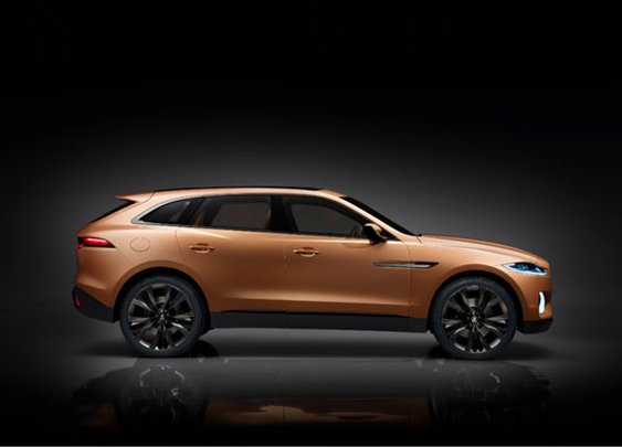 Jaguar C-X17 Sports Crossover Concept for China Debuts at Guangzhou Motor Show