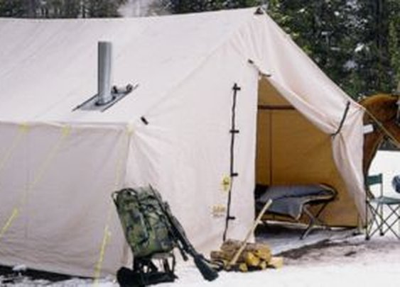 Cabela's Outfitter Wall Tents with Sewn-In Floor by Montana Canvas : Cabela's