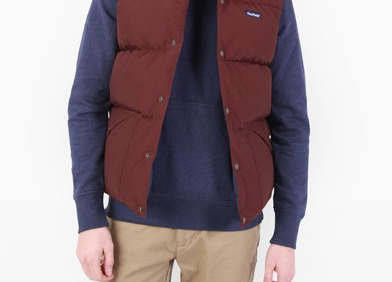 Penfield USA Outback Vest - Burgundy