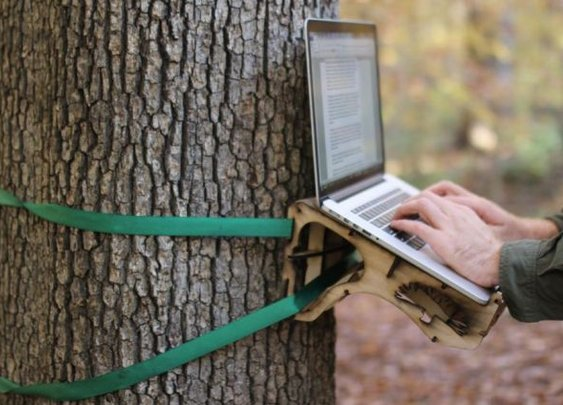 Standing Tree Desk - Manliest Desk Ever?