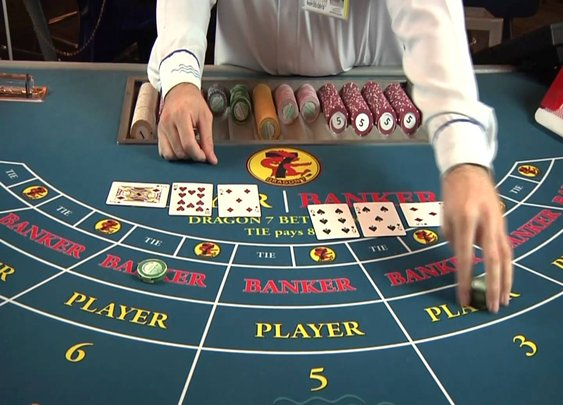 How to Play Baccarat - YouTube