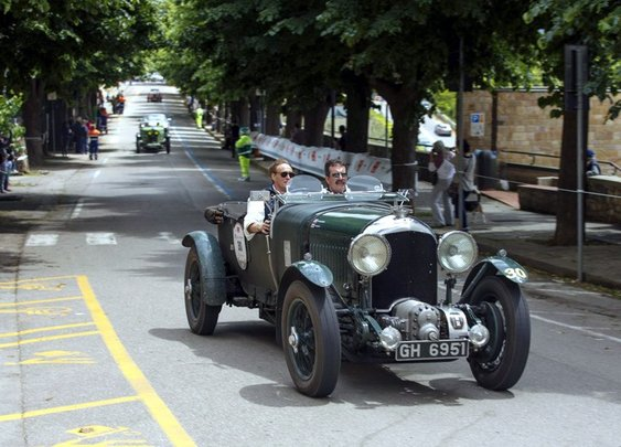 Bentley 4½ Litre Blower review