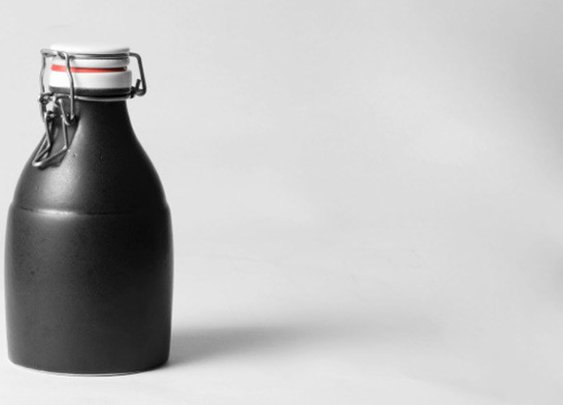 Kaufmann Mercantile Handmade Ceramic Growler: Have Beer, Will Travel Or Whatever