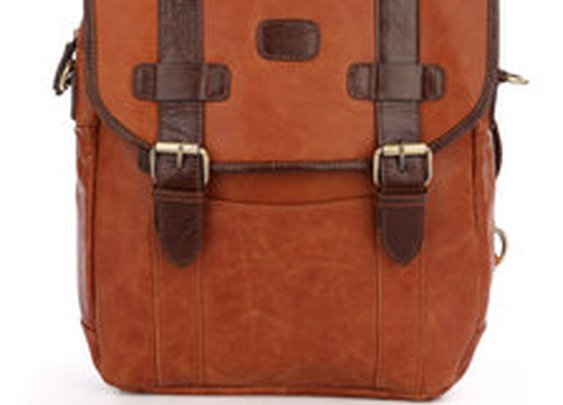 Leather Family — Real Vintage Leather Backpack Briefcase Messenger Bag Day Pack Tote Bag Satchel Duffle