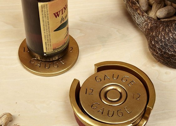 Shotgun Gauge Coasters