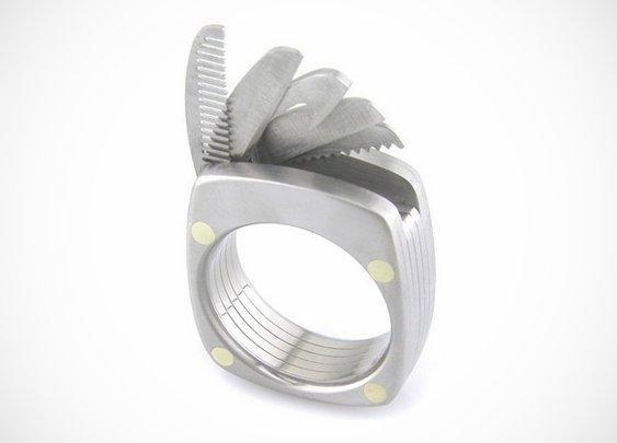 Titanium Utility Ring - BonjourLife