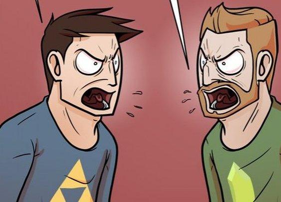 The Definitive Zelda Argument - Dorkly Comic
