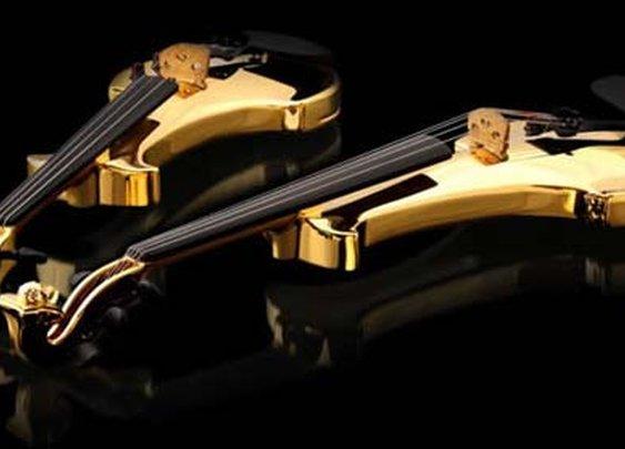 The World's First 24kt Gold Violins worth $2 million