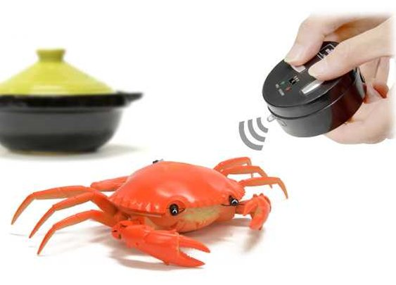 Remote Control Crabs Make Swell Shelled Holiday Gifts