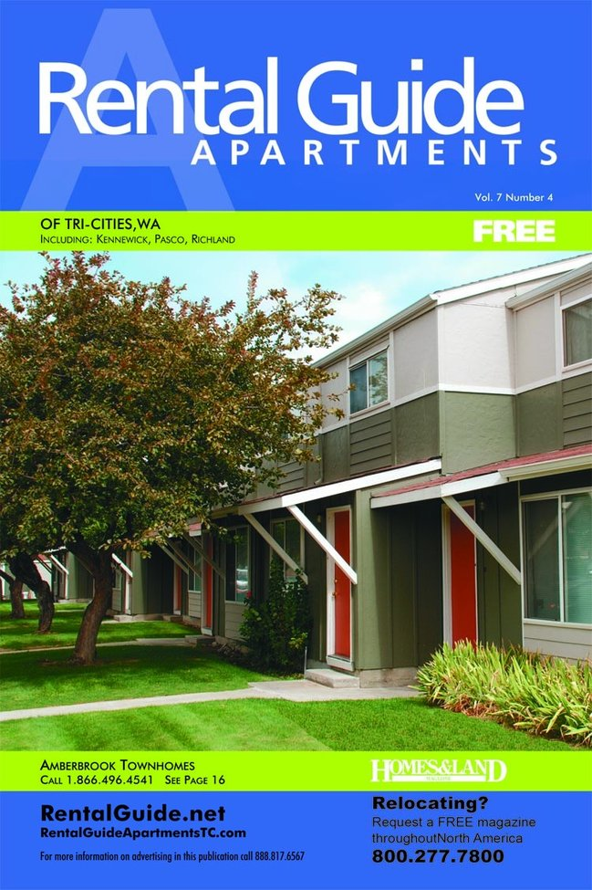 Apartments For Rent in the  Apartment Rental Guide Magazine