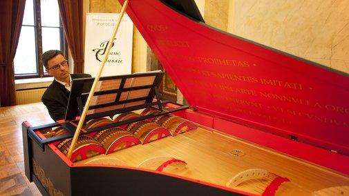 Da Vinci's String Organ Must Be Heard To Be Believed : Deceptive Cadence : NPR