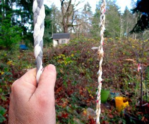 Very strong shopping bag rope - no tools needed