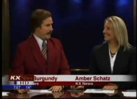 Ron Burgundy Does an Actual Newscast in North Dakota