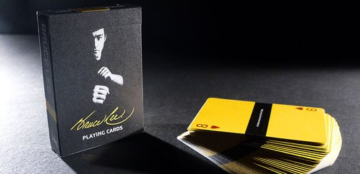 Bruce Lee Playing Cards | The Coolector