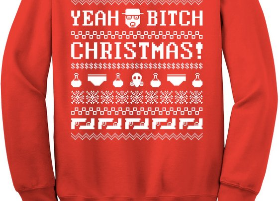 """Breaking Bad"" Christmas Jumper"