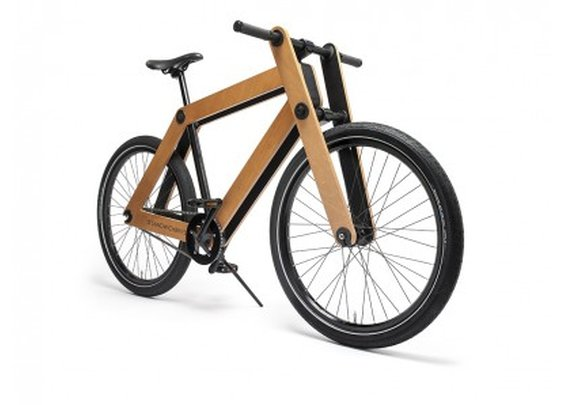 Wood-framed Sandwichbike ready to hit the streets