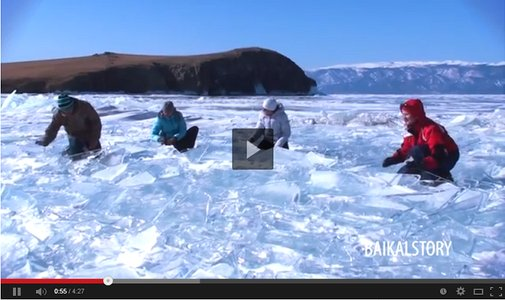 Siberian Ice Drummers Use Frozen Lake as an Instrument