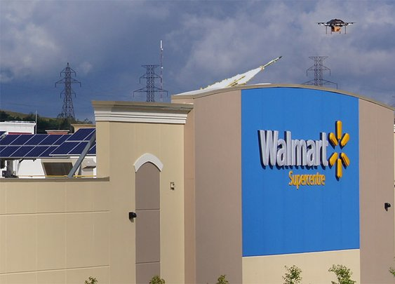 Walmart to Install Surface-to-Air Missiles on Store Rooftops to Shoot Down Amazon Drones | Rock City Times