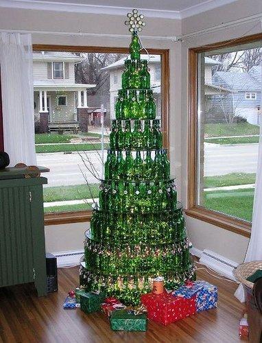 Heineken Xmas tree