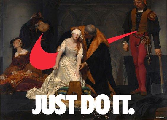 Swooshart - Nike Meets Classic Art