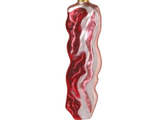 MANLY BACON ORNAMENT at What on Earth | VK4333