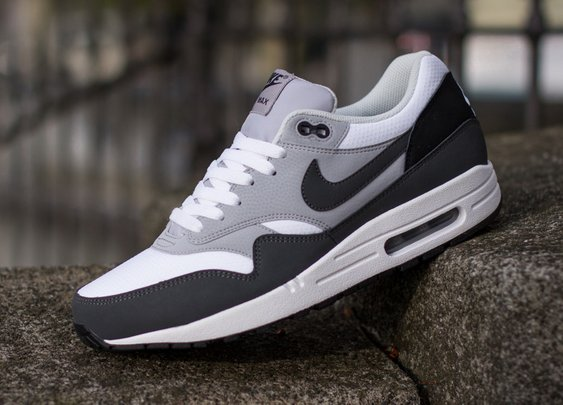 Nike Air Max 1 Essential - Anthracite / Wolf Grey - Black | KicksOnFire.com