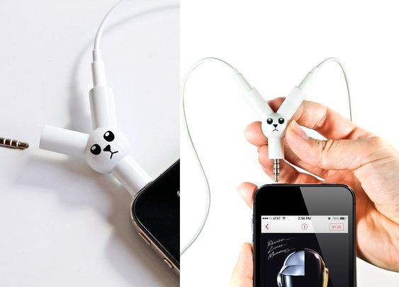 Jack Rabbit Headphone Splitter - BonjourLife