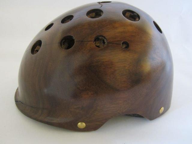 Custom Wood Helmets