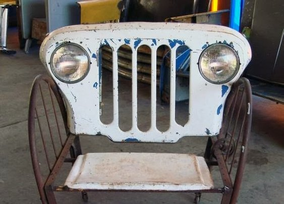 Jeep Chair