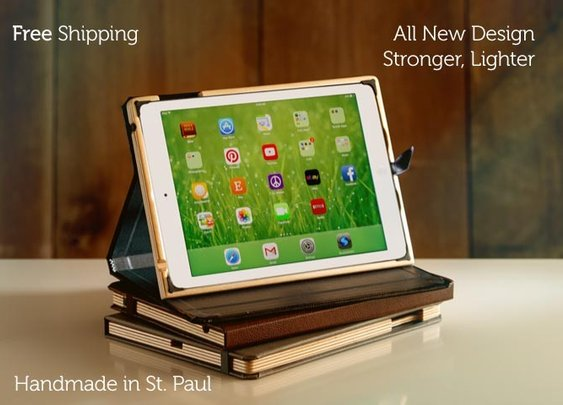 Case for iPad Air by Pad&Quill | The Contega