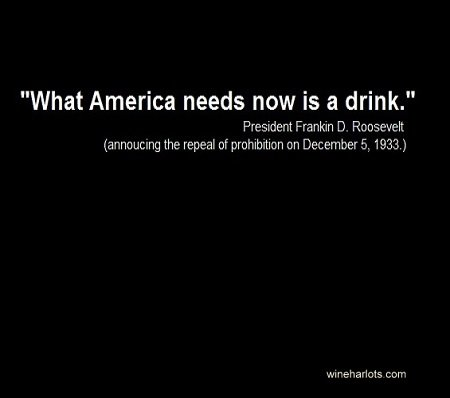 What America Needs Now Is A Drink