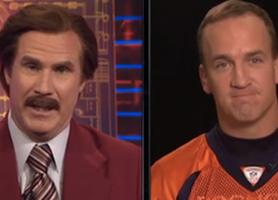 Ron Burgundy Interviews Peyton Manning & Has His Own Scotch Now | FirstShowing.net